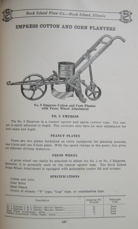 Listers Drills And Planters